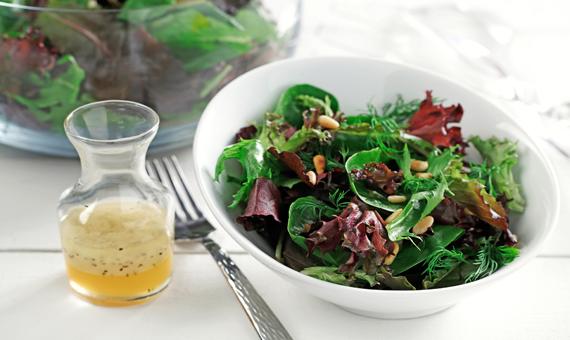 Salad holder